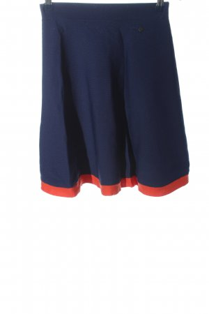 Nümph Minigonna blu-rosso stile casual