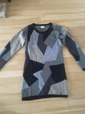 NÜMPF Robe pull noir-gris lilas
