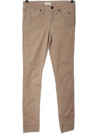 Nümph Drainpipe Trousers brown casual look