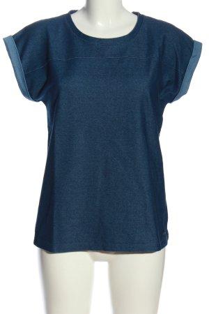 Nümph Schlupf-Bluse blau Casual-Look
