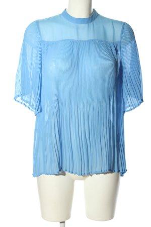 Nümph Schlupf-Bluse blau Elegant