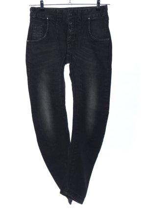 Nümph Slim Jeans schwarz Casual-Look