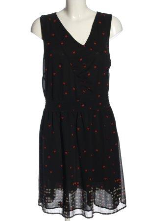 Nümph Summer Dress black-red allover print casual look