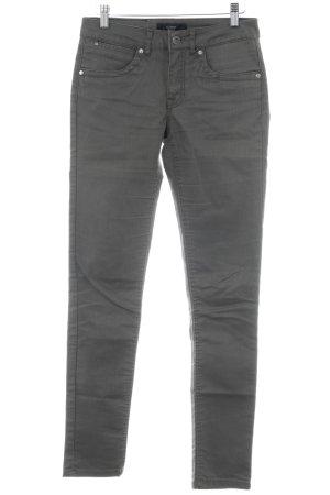 Nümph Straight-Leg Jeans graubraun schlichter Stil