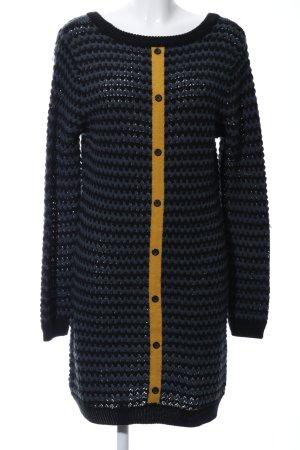 Nümph Gebreide jurk grafisch patroon casual uitstraling