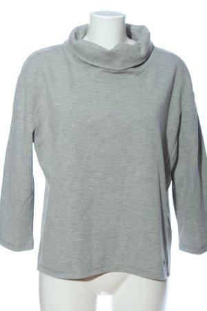 Nümph Sweatshirt lichtgrijs gestippeld casual uitstraling