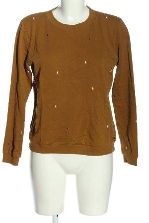 Nümph Sweatshirt brun style décontracté