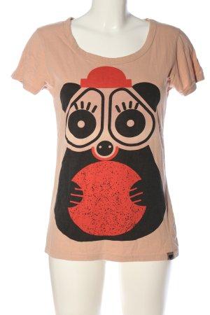 Nümph T-Shirt Motivdruck Casual-Look