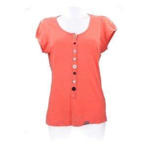 Nümph Shirt basique orange coton