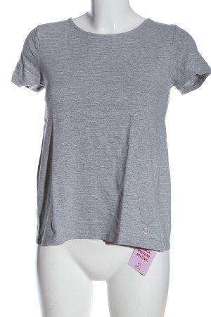 Nümph T-shirt grigio chiaro-nero puntinato stile casual