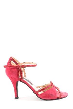 nueva Hoge hakken sandalen rood casual uitstraling