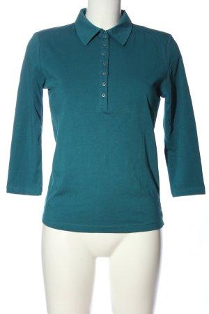 Nuevo Polo-Shirt blau Casual-Look