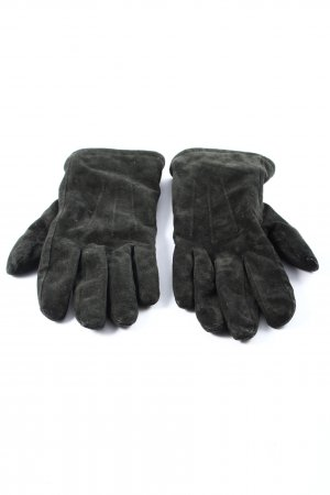 nulu new look Leather Gloves light grey casual look