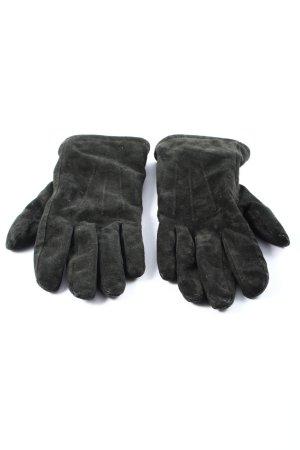 nulu new look Rękawiczki skórzane jasnoszary W stylu casual