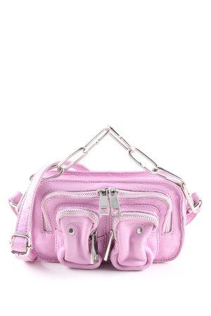 NUNOO Bauchtasche pink Casual-Look