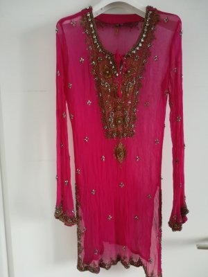 Tunic Dress raspberry-red