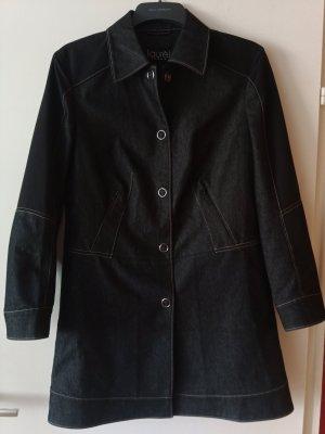 laurel jeans Abrigo largo negro-azul oscuro