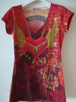 Nur 2x getragen: Original Christian Audigier Shirt, Gr.L