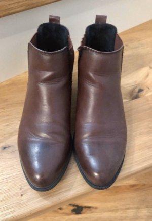 Nur bis 31.3.! Chelsea Boots Bordeaux Graceland 38