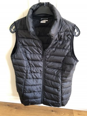 Blue Motion Quilted Gilet black polyester