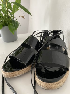 Pieces Roman Sandals black-beige
