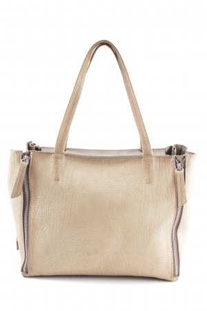 Nurage Handtasche creme Business-Look