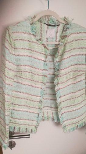 NVSCO Tweed blazer veelkleurig Katoen
