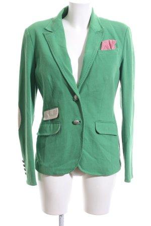 NVSCO Kurz-Blazer grün Casual-Look