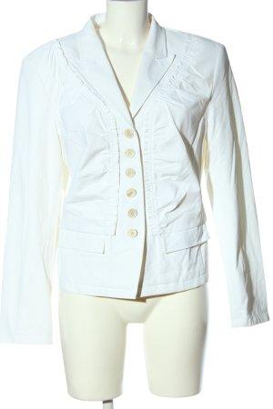 NVSCO Korte blazer wit casual uitstraling