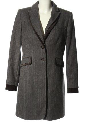 NVSCO Cappotto corto grigio chiaro stampa integrale stile professionale