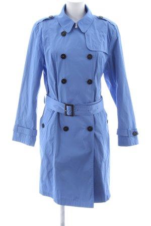 NVSCO Trenchcoat blau Business-Look