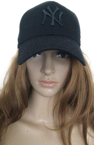 NY Baseball Cap schwarz