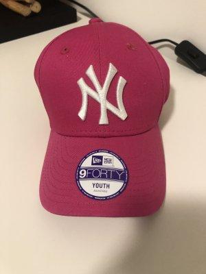 Gorra de béisbol rosa