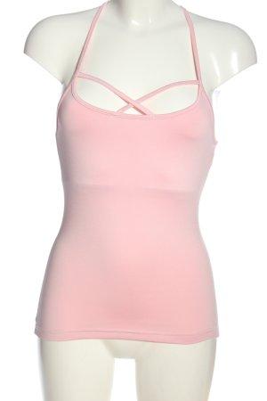 nyathletics Top básico rosa look casual