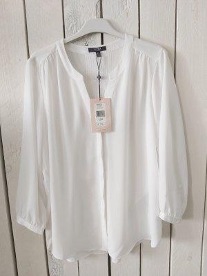 NYDJ Bluzka ze stójką biały