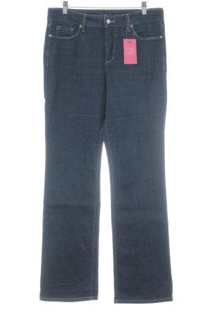 NYDJ Boot Cut Jeans dunkelblau Casual-Look