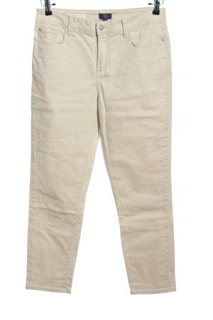 NYDJ Spodnie z pięcioma kieszeniami jasnoszary W stylu casual