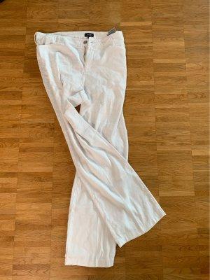 NYDJ Pantalón de lino blanco