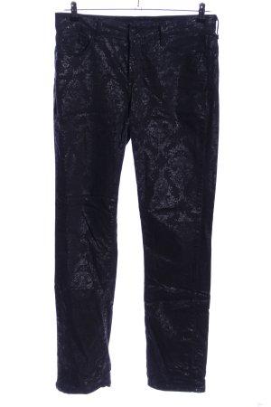 NYDJ Skinny Jeans schwarz Allover-Druck Casual-Look