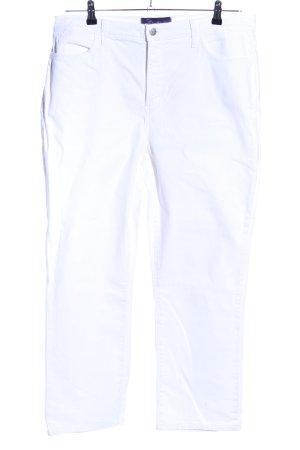 NYDJ Slim Jeans weiß Casual-Look