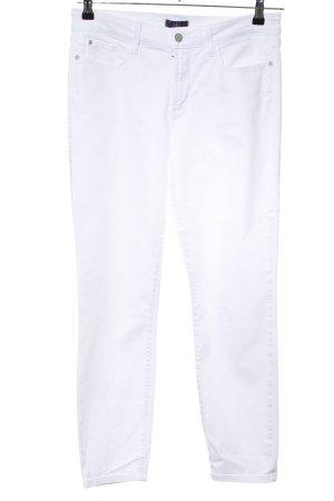 NYDJ Straight-Leg Jeans weiß Casual-Look