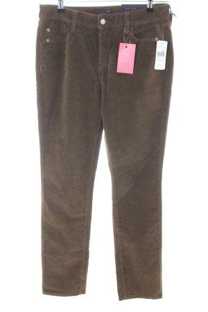 NYDJ Stretchhose bronzefarben Casual-Look