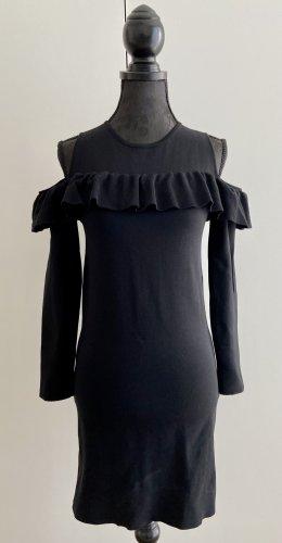 Zara Sukienka z wycięciem czarny