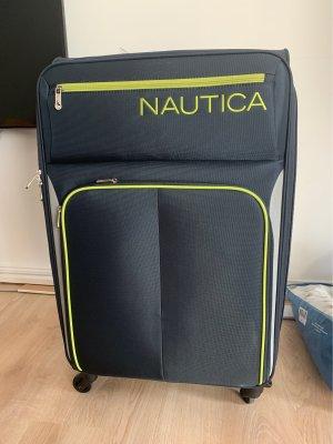 Nautica Trolley donkerblauw-neongeel