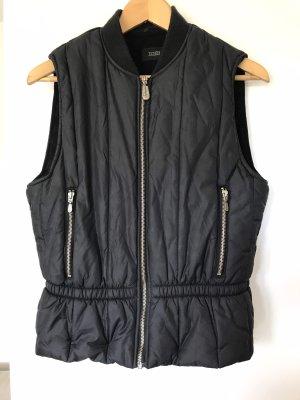 Closed Gewatteerd vest zwart
