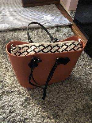 O bag Shopper orange foncé