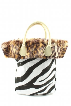 O bag Bolso tipo marsupio estampado de animales look casual