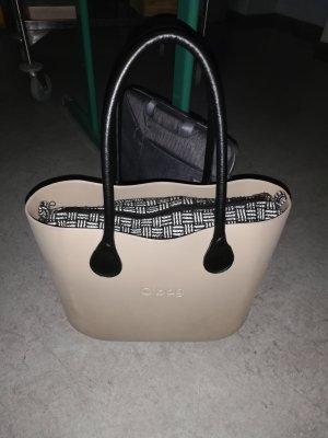 O bag Bolso barrel crema