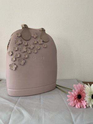 O bag mit Blumenapplikation