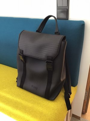 O bag Laptop Backpack black